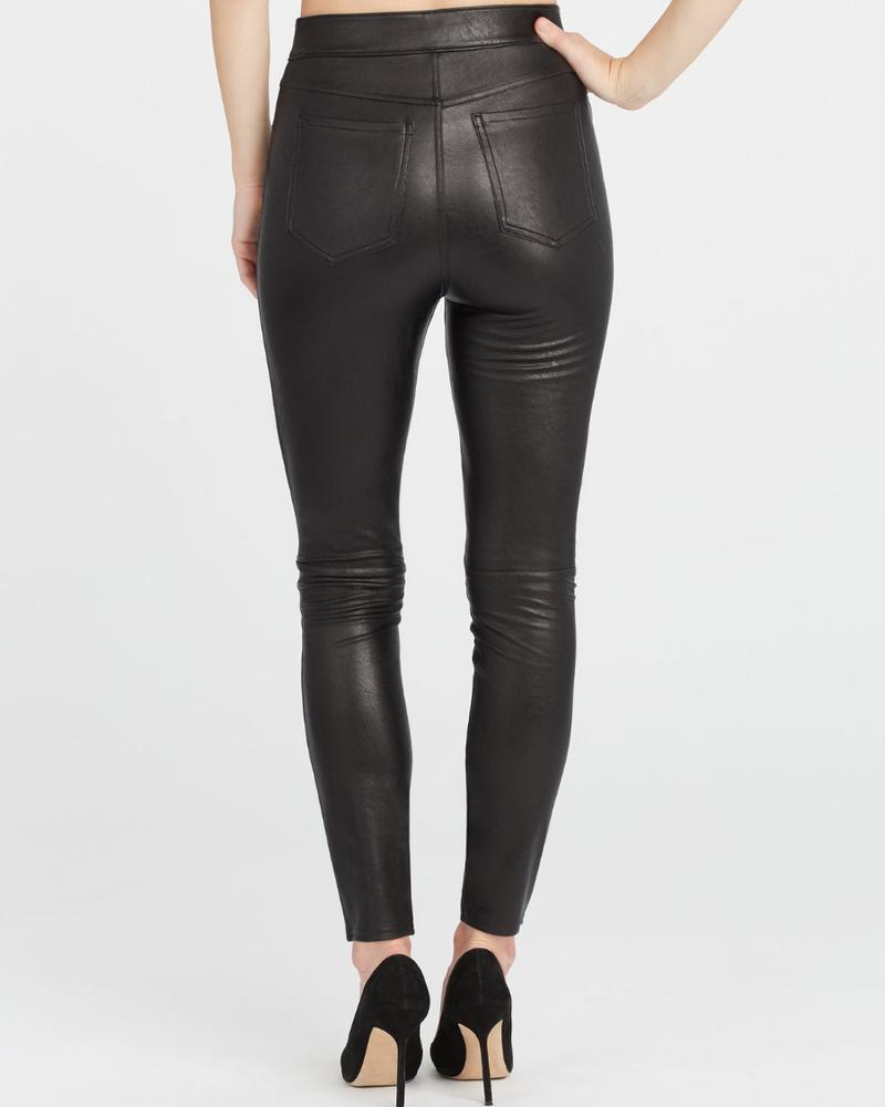 Spanx Leather-Like Skinny Pant