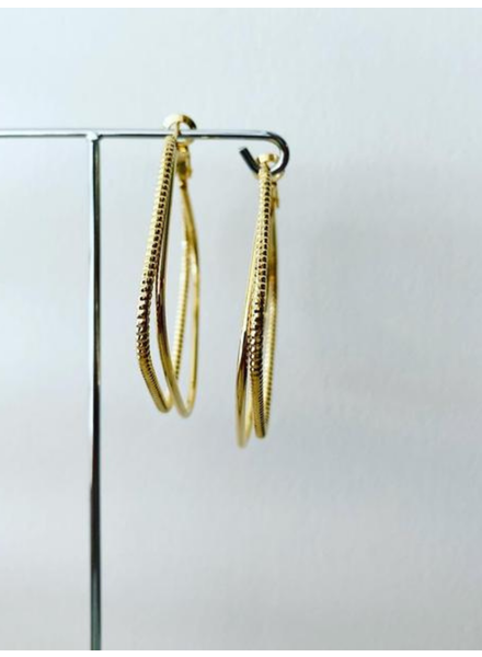 Must Have Brass Earrings | Boss Remix Hoop (More Colors)