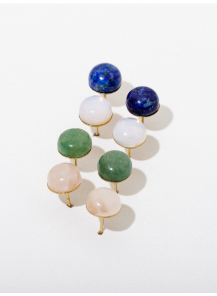 Larissa Loden Gemstone Post Earrings (More Colors)