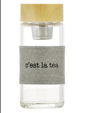 SB Design Studio Glass Tea Infuser | C'est La Tea
