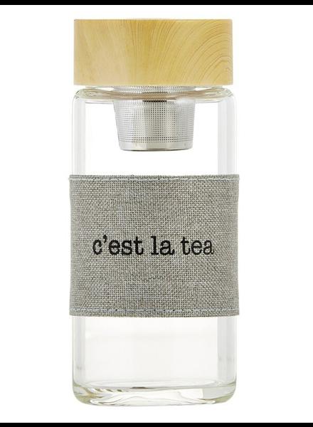 SB Design Studio Glass Tea Infuser   C'est La Tea