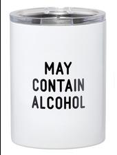 SB Design Studio Travel Tumbler | May Contain Alcohol