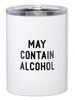 SB Design Studio SB Design Studio Travel Tumbler   May Contain Alcohol