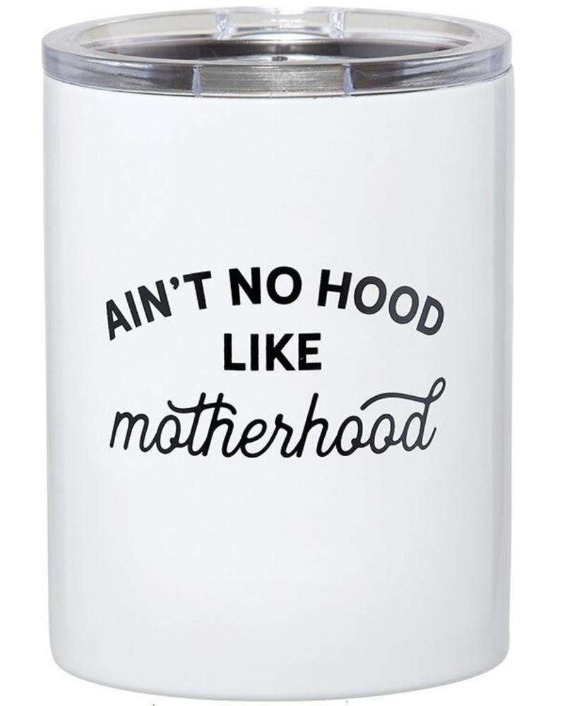SB Design Studio SB Design Studio Travel Tumbler | Ain't No Hood Like Motherhood