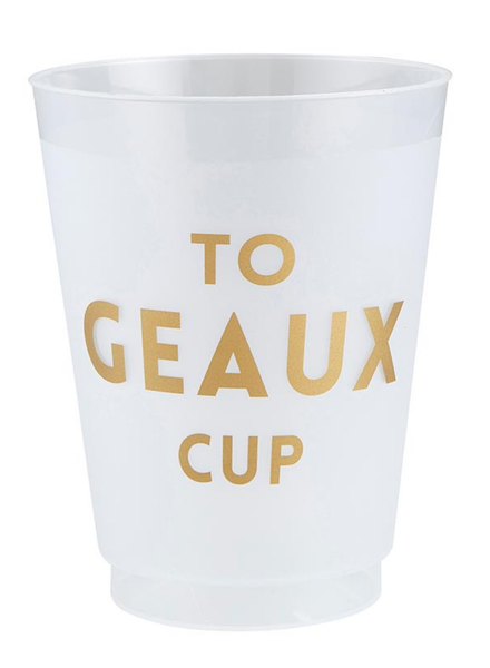SB Design Studio Frost Cup   To Geaux Cup