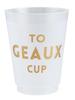 SB Design Studio SB Design Frost Cup | To Geaux Cup