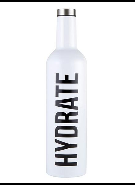 SB Design Studio Hydrate Stainless Steel Wine Bottle