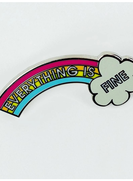 Chez Gagne 'Everything Is Fine' Pin