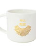 Chez Gagne Chez Gagne 'All Rise RBG Collar' Mug