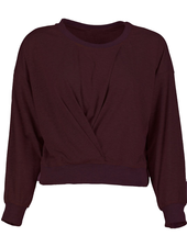 Bishop + Young 'Scarlett Letter' Knot Front Sweatshirt
