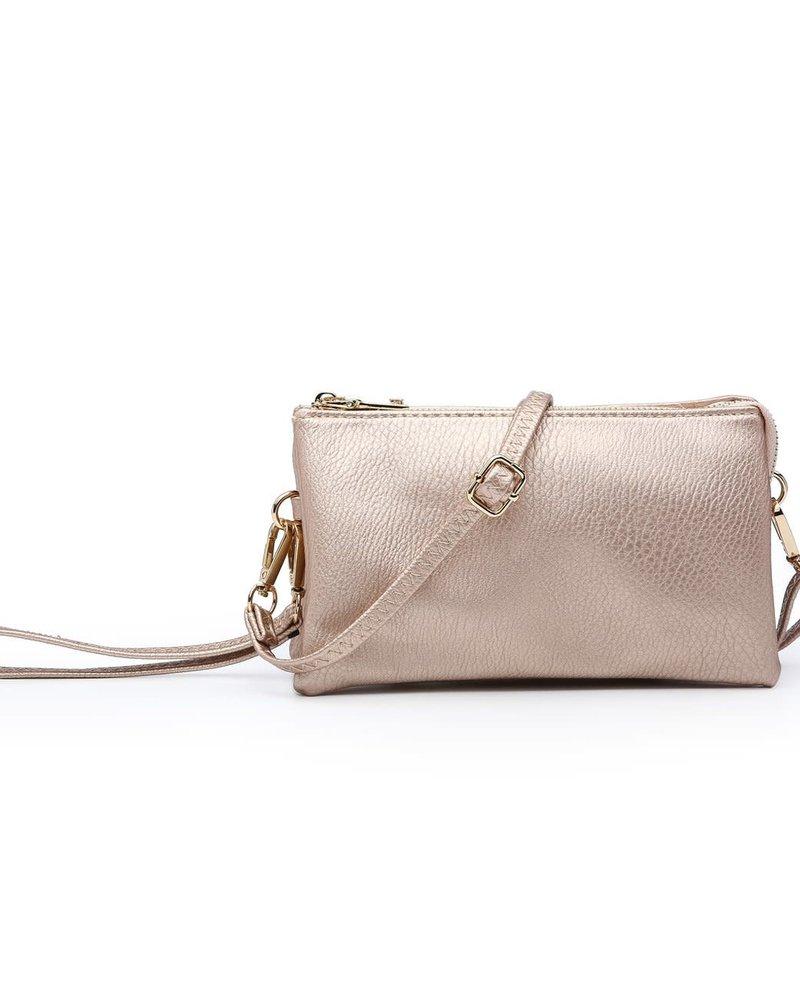 Jen & Co. Jen & Co. 'Riley' Expandable One Zip Crossbody