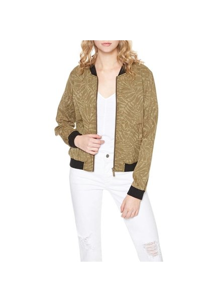 Sanctuary Clothing Palmaflage Bomber Jacket (Small) **FINAL SALE**