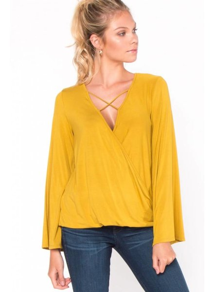 Everly 'Criss-Cross About Town' Top (Small) **FINAL SALE**