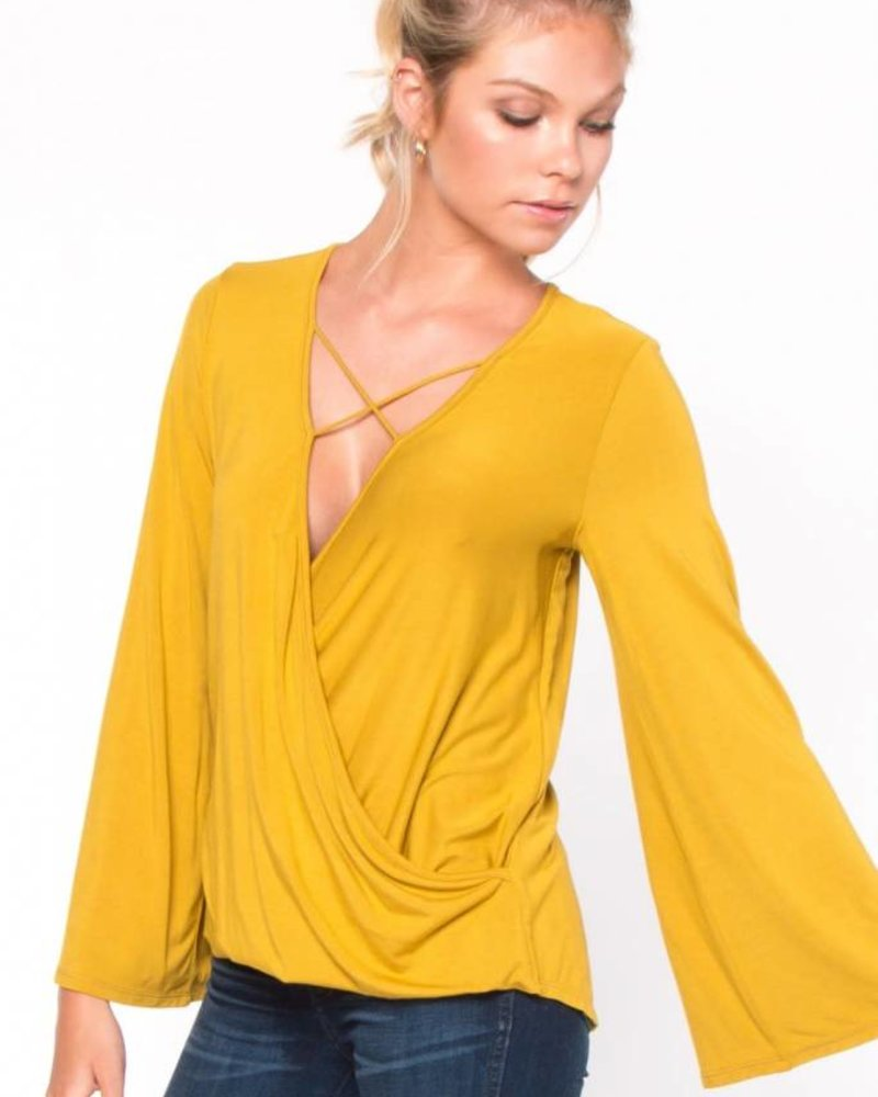 Everly Everly 'Criss-Cross About Town' Top (Small) **FINAL SALE**