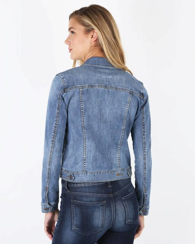 Kut from the Kloth Kut from the Kloth 'Amelia' Denim Jacket in Empathetic