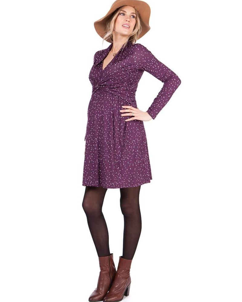 Seraphine Maternity Seraphine Maternity 'Helen' A-Line Nursing Dress (Medium) **FINAL SALE**