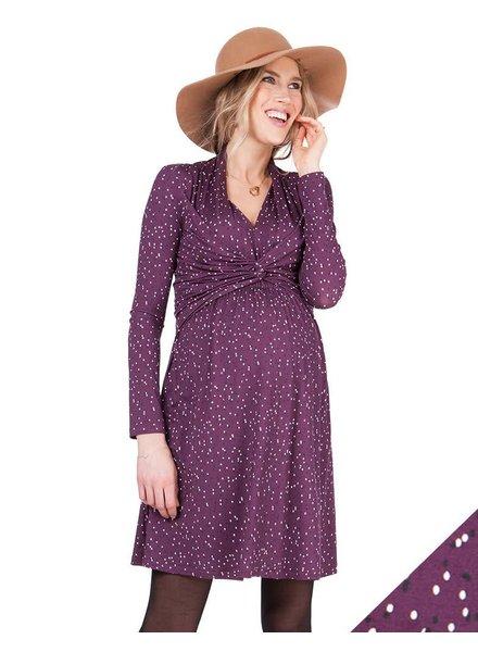 Seraphine Maternity 'Helen' A-Line Nursing Dress (Medium) **FINAL SALE**