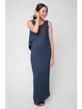 Ripe Denim 'Swing Back' Nursing Maxi Dress