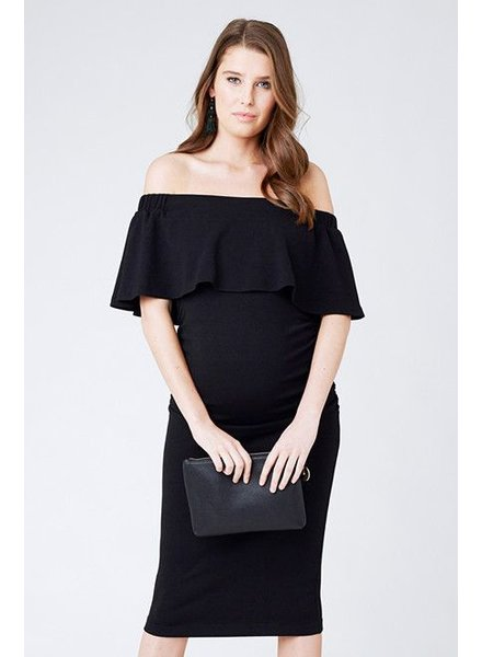 Ripe 'Soiree' Sleeveless Off Shoulder Dress (Extra Small) **FINAL SALE**