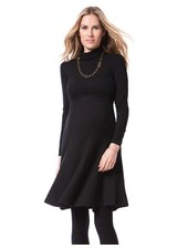 Seraphine Maternity 'Vanessa' Roll Neck Maternity Dress (Size 6) **FINAL SALE**