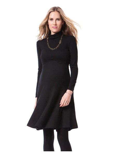 Seraphine Maternity 'Vanessa' Roll Neck Maternity Dress (Size 6) **FINAL SALE**