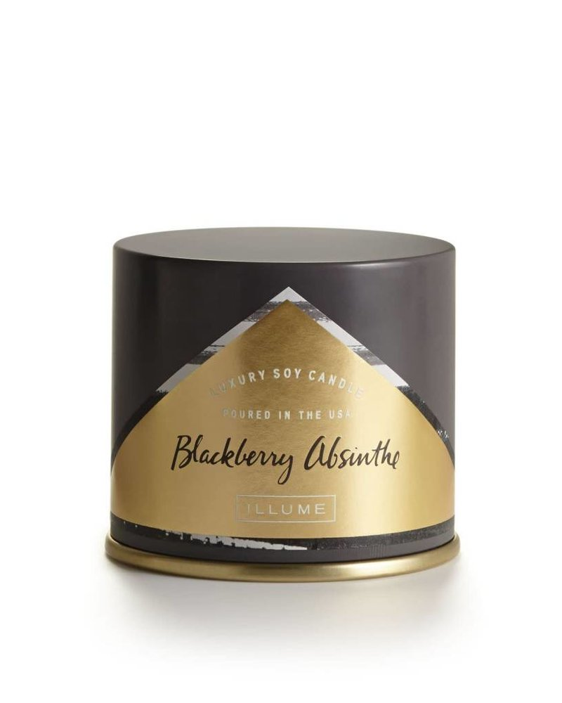 Illume Candles Illume Vanity Tin in Blackberry Absinthe