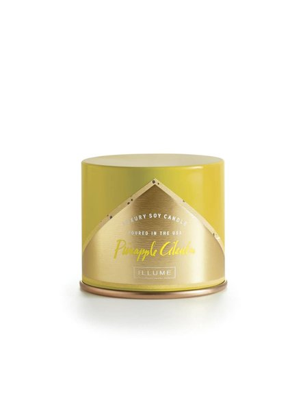 Illume Candles Vanity Tin Candle in Pineapple Cilantro