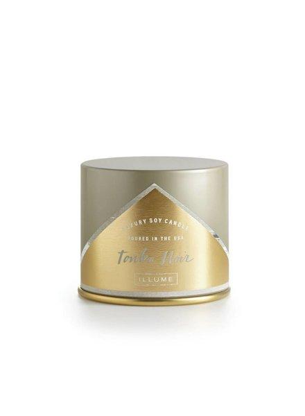 Illume Candles Vanity Tin in Tonka Noir