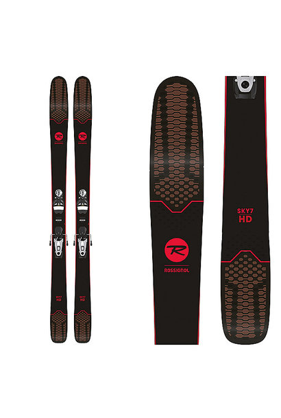 Sky 7 HD Skis with SPX 12 Konect Bindings