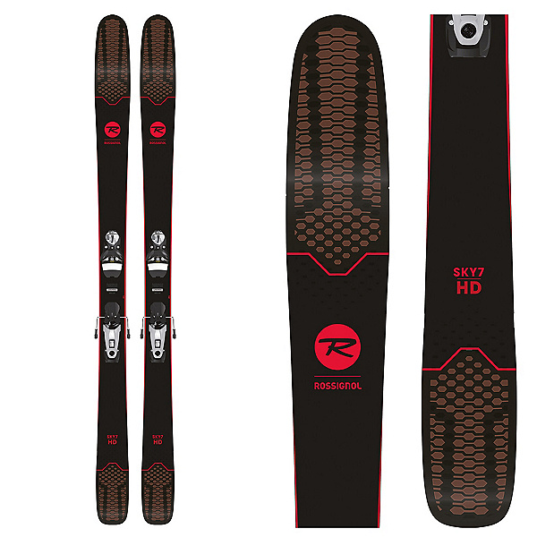 Sky 7 HD Skis with SPX 12 Konect Bindings-1