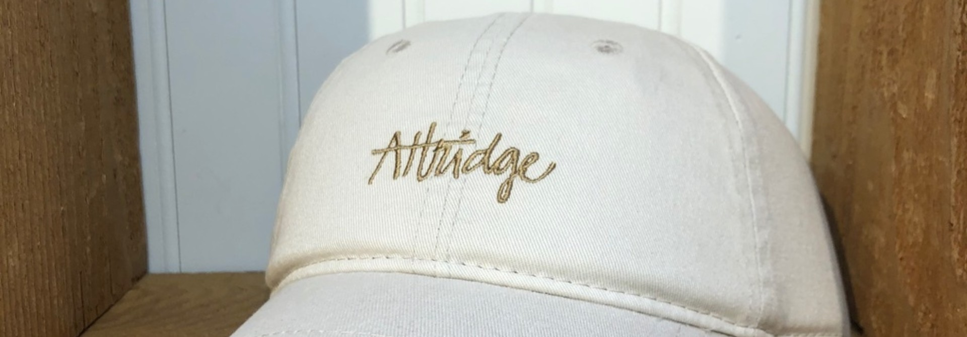 Attridge Script Dad Hat