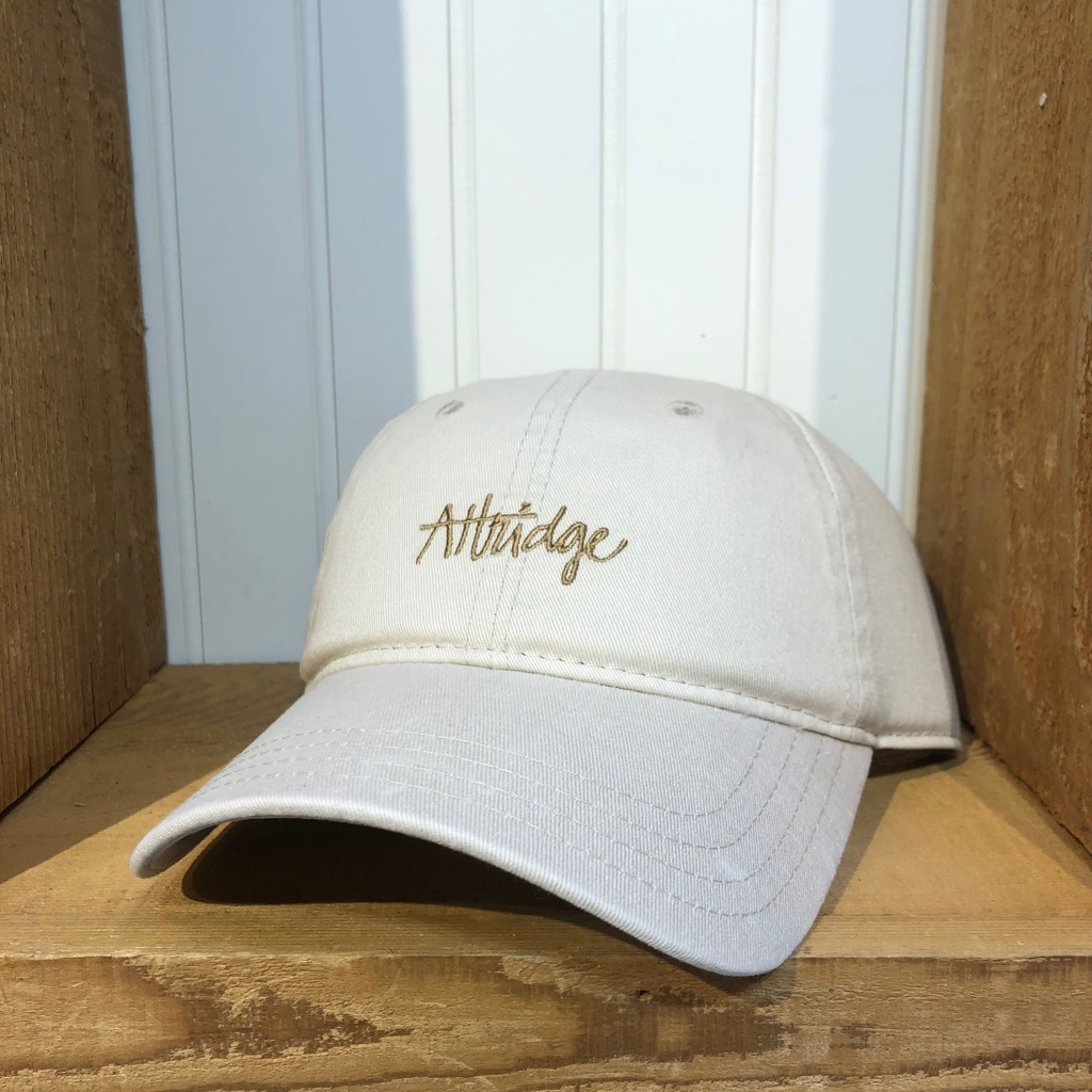 Attridge Script Dad Hat-1