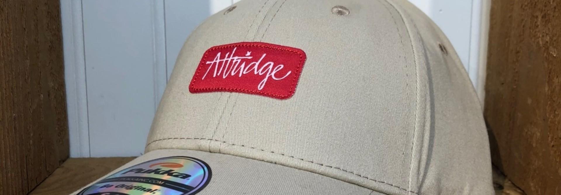 Attridge Script Stretch Fit Hat