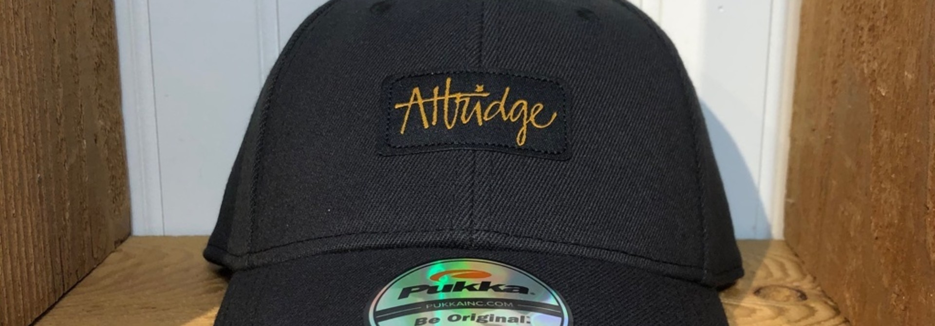 Attridge Script Stretch Fit Hat