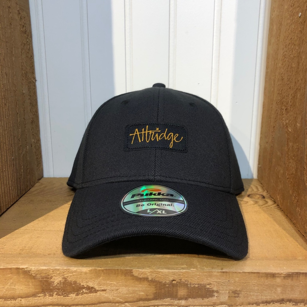 Attridge Script Stretch Fit Hat-1