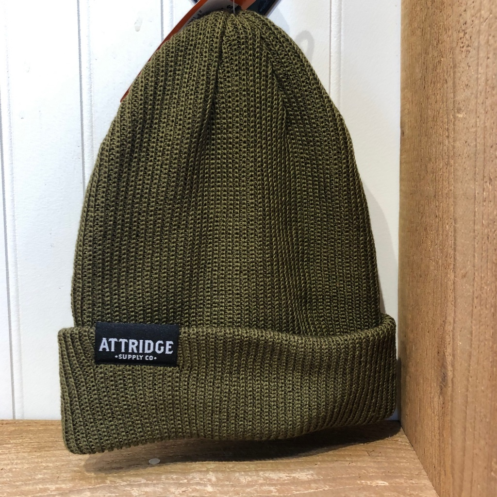 Attridge Supply Co Label Beanie-1