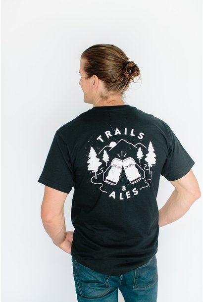 TRAILS AND ALES VINTAGE TEE