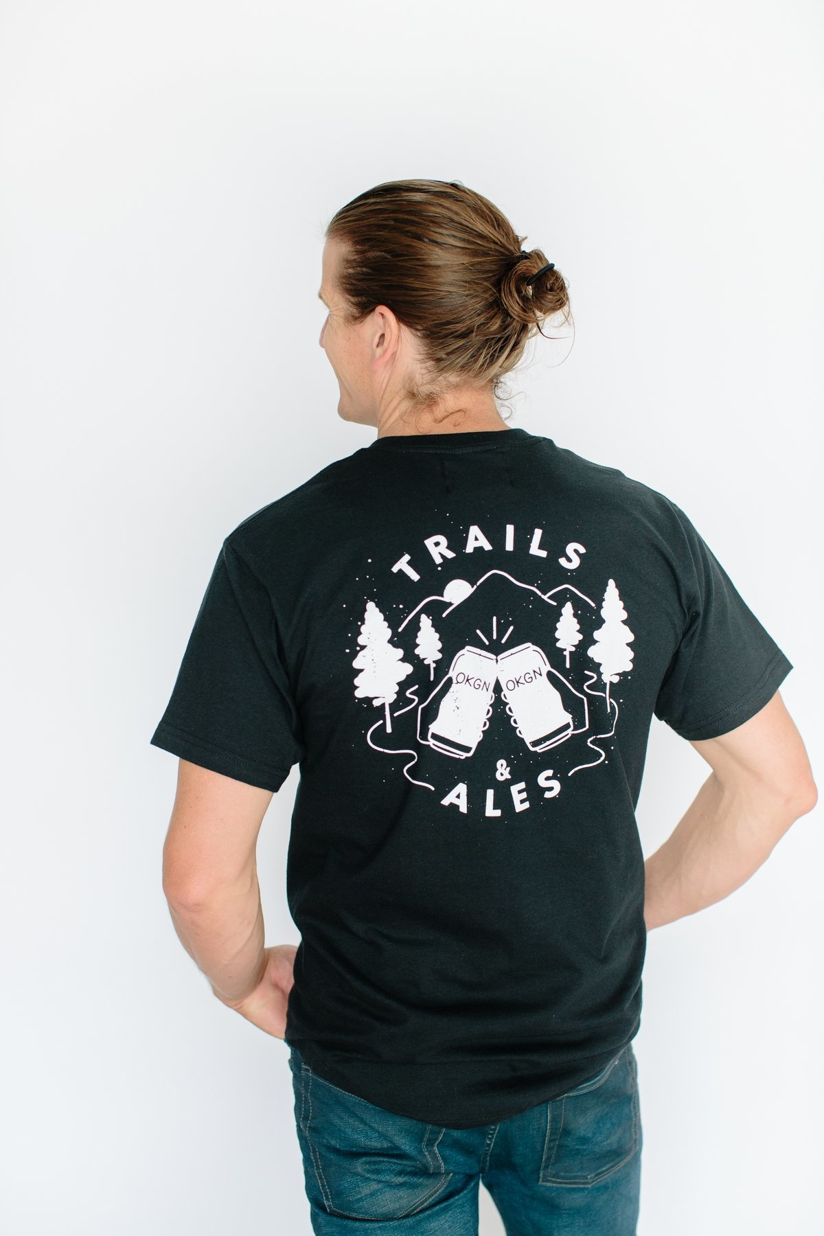 TRAILS AND ALES VINTAGE TEE-1
