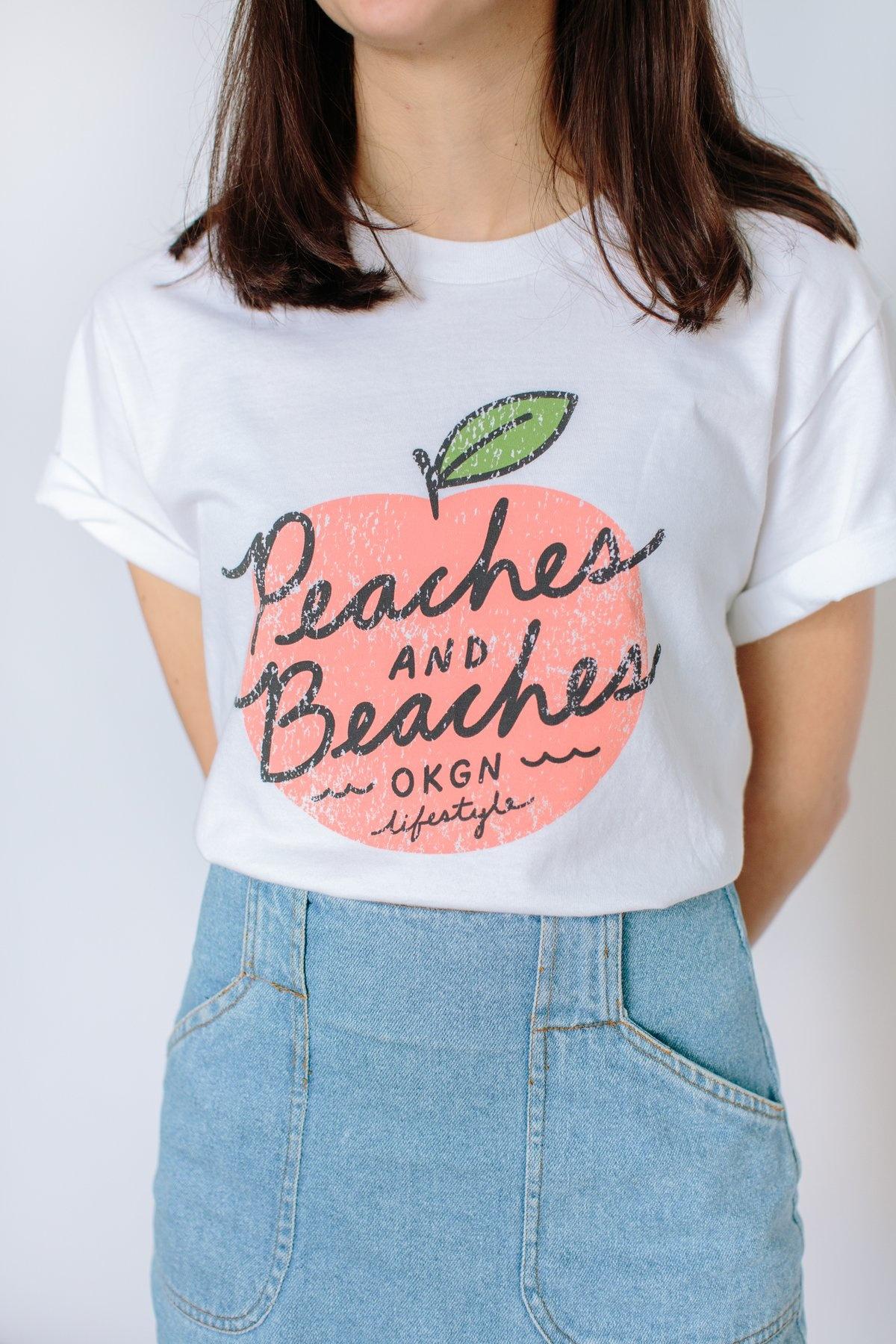 Peaches & Beaches T-Shirt-2