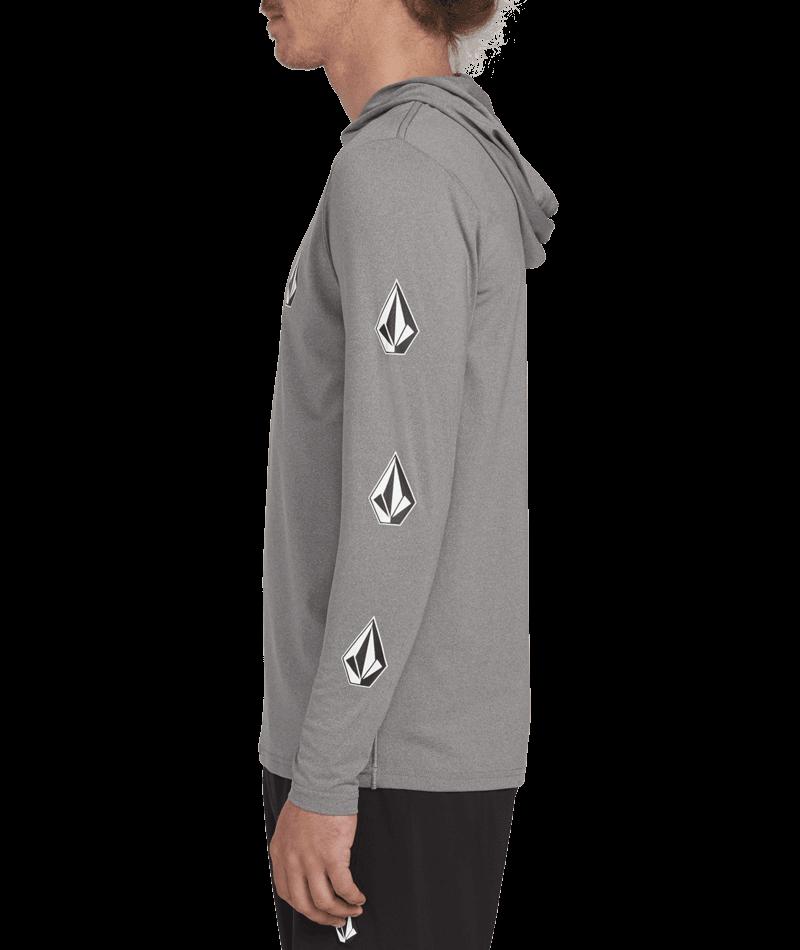 Deadly Stones Hooded Long Sleeve Upf 50 Rashguard-3