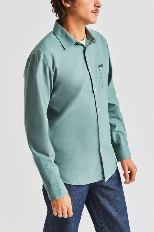 Charter Oxford L/S Woven-2