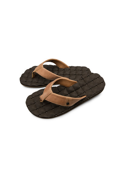 RECLINER LEATHER SANDALS
