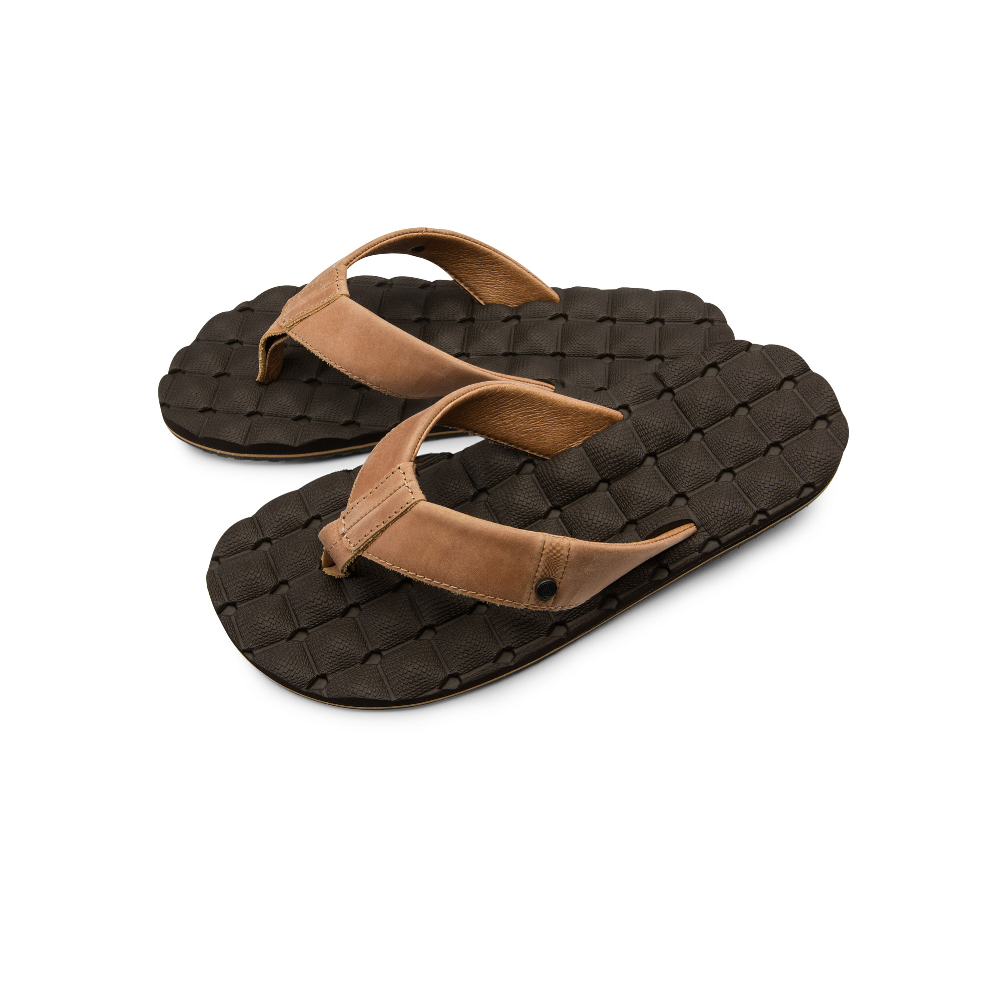 RECLINER LEATHER SANDALS-2
