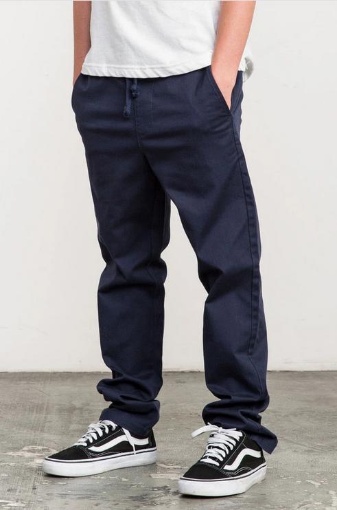 Boys A.T. Dayshift Elastic Waist Pants-2