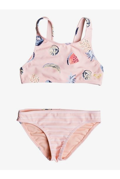 SPLASHING YOU CROP SET