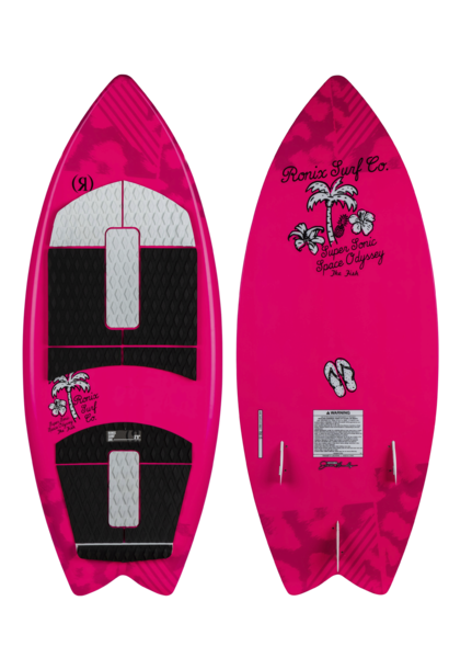 Girls Super Sonic Space Odyssey Fish Wakesurfer 2020