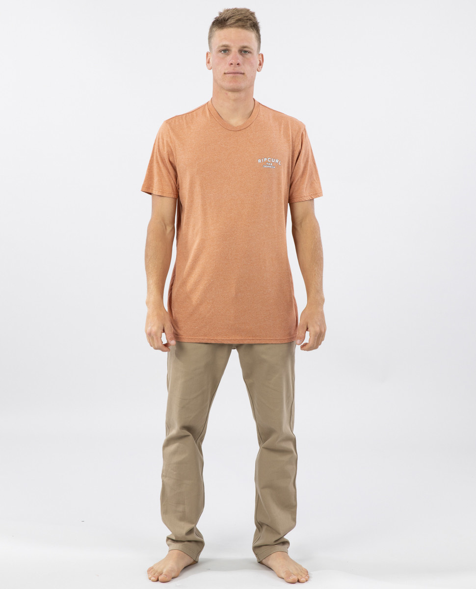 BACK DOOR MOCK TWIST TEE-3