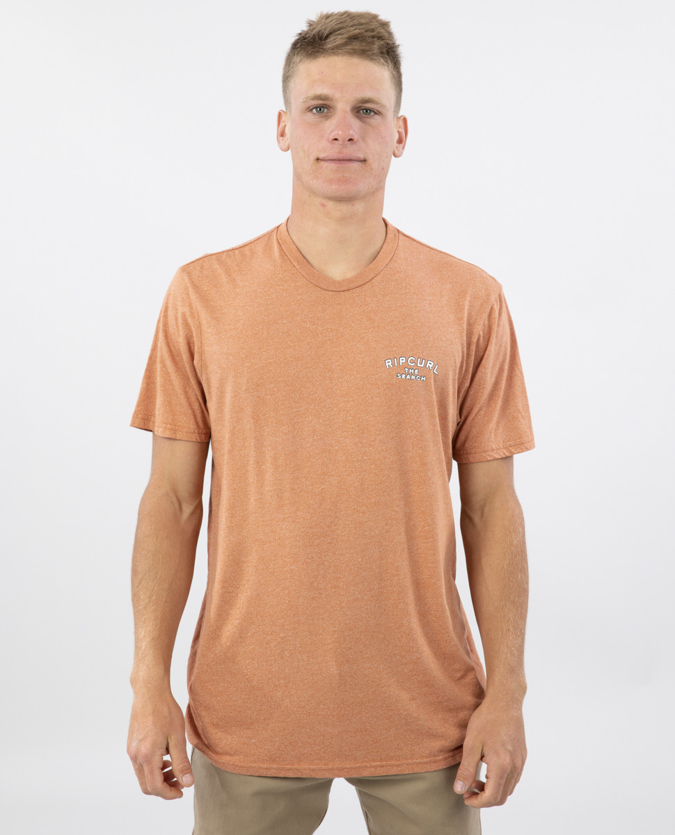 BACK DOOR MOCK TWIST TEE-2