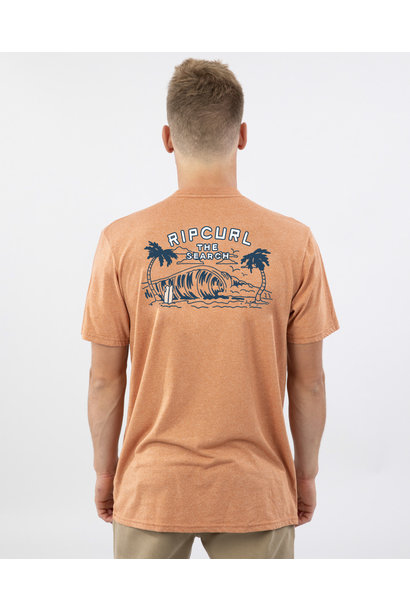 BACK DOOR MOCK TWIST TEE