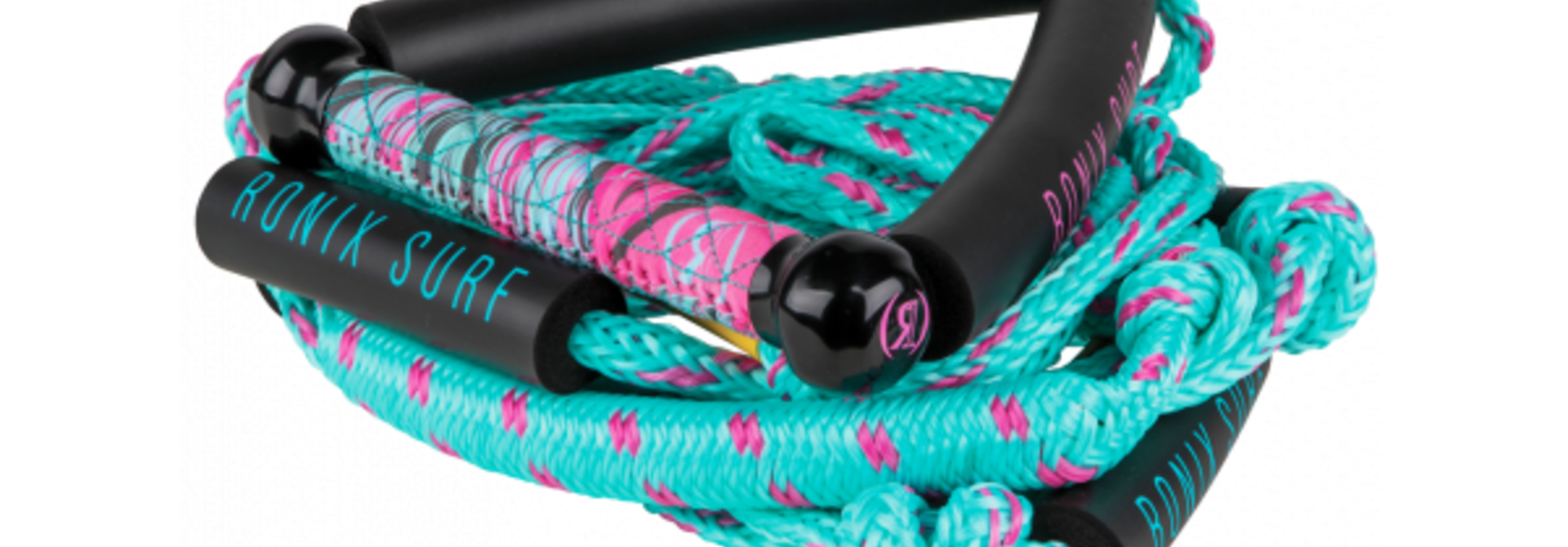 Womens Bungee 10 Wakesurf Handle w/ 25ft 4 Section Rope